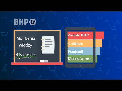 Zasady BHP w obliczu Pandemii Koronawirusa